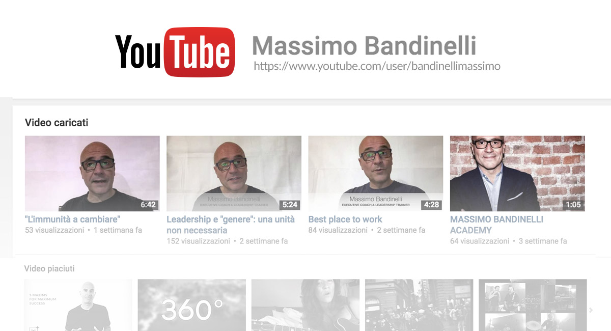 Massimo Bandinelli You Tube
